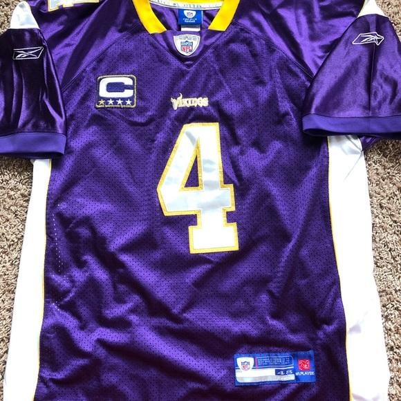 Reebok Other | Brett Favre Minnesota Vikings Jersey | Poshmark